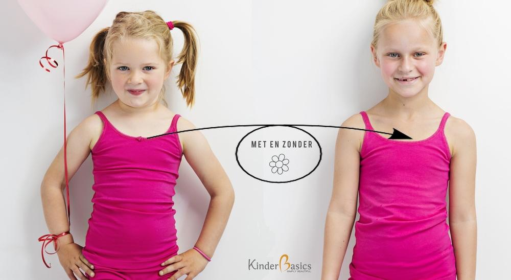 Meisjes ondergoed in diverse kleuren en maten